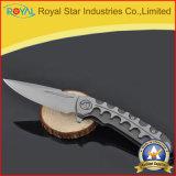 専門の黒い終わりの折る刃の戦術的なポケット・ナイフ(RYST0040C)
