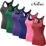Nt8007 Neleusの女性の圧縮の適性のヨガの衣類の体操のスポーツ・ウェア