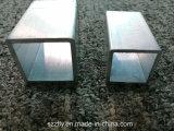 Tubo de aluminio/de aluminio de la anodización del CNC para el material de construcción