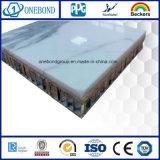 Panneau composé et placage en pierre mince pour le mur de construction
