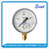 A pressão do Manómetro-Ar do oxigênio Calibrar-Não usa nenhum manómetro do petróleo