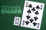 Tarjetas que juegan enormes estupendas impermeables modificadas para requisitos particulares