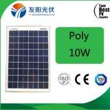 Poly panneau solaire de haute performance avec une cellule 10W-15W de pente