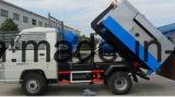 Mini caminhão de elevador do recipiente do lixo de Forland 1cbm