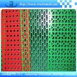 Metal de folha perfurado do diamante ou do Rhombus