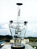 Conduite d'eau de fumage neuve en verre de Borosilicate de becher de vente en gros de modèle