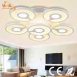 Éclairage ovale de mur de la lampe légère chaude DEL de pièce de prix usine de la Chine