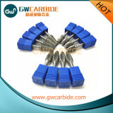 Bavures rotatoires de carbure de tungstène pour l'aluminium