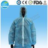 Водоустойчивый, пылезащитный и противостатический Non сплетенный Coverall