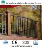 Rete fissa ornamentale incurvata ricoperta Interpon di Ce/SGS per la piattaforma, il balcone ed il giardino
