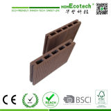 145*22mm Hohecotech Houten Plastic Samengestelde Decking voor OpenluchtProject