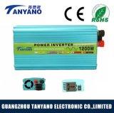 C.C. 12V del inversor de la potencia al inversor 1200W de la energía solar de la CA 220V para la venta barata