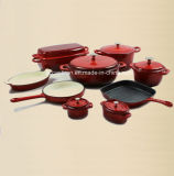 fornitore stabilito del Cookware del ghisa dello smalto 9PCS dalla Cina