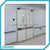 Ручной двойник двери качания открытый для корридоров, комнат деятельности