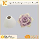 Bottiglia di profumo di ceramica su ordinazione con la protezione del fiore
