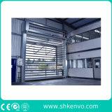 Puerta de Alta Velocidad Aislada Termal del Obturador del Rodillo para el Almacén Frío