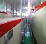 Linea di produzione automatica UV di plastica su nastro trasportatore della verniciatura a spruzzo