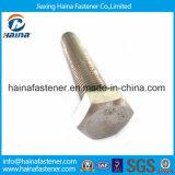 Ss 304 Bout van de Hexuitdraai DIN933 van het Roestvrij staal de Zink Met een laag bedekte met Noot