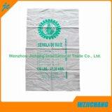 Sacchetto d'imballaggio tessuto pp bianco della farina di frumento della materia prima 25kg del Virgin puro di 100%