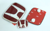 ホンダのバッジのための自動車の装飾CRVの赤い前部
