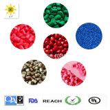 プラスチック原料の高密度カラーMasterbatch