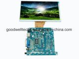 Module d'affichage à cristaux liquides de bâti ouvert de 7 pouces avec VGA/HDMI entré/contact