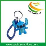 Мягкий PVC выдвиженческое СИД Keychain с цепью шарика