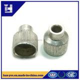 Dispositif de fixation ovale de placage d'opération de noix de garniture intérieure de trou