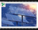 glace Tempered de fer inférieur de 3.2mm pour la pile solaire