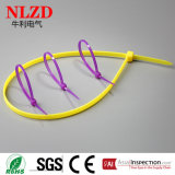 Self-locking Nylon связи застежка-молнии /Plastic связей кабеля
