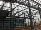 Edificio prefabricado del taller del marco de la estructura de acero