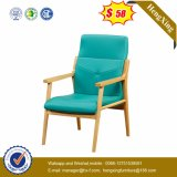 Pronto Mobiliário de escritório Chrome Metal Leg Leather / PU Visitor Chair (Ns-CF082)