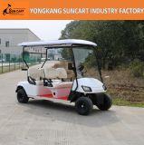 日曜日の陰、セリウムが付いているゴルフコースの使用4のシートの小型ゴルフ電気自動車は電気自動車を承認した