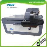 Stampatrice a base piatta UV di vendita calda di Wer A0 LED per vetro