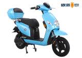 青い女の子の電気スクーター、強力な女の子の電気モーターバイク