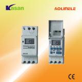 Еженедельный Programmable электронный переключатель отметчика времени цифров (16A 250VAC)