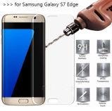 Schoner-Film-ausgeglichenes Glas für Rand der Samsung-Galaxie-Anti-Löschen S6
