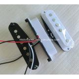 Camionnette de livraison simple de guitare de début de bobine de Rod de l'AlNiCo blanc 2