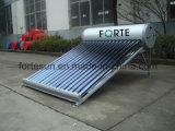 国内低圧の真空管の太陽給湯装置