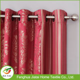 Cortinas y cortinas baratas del dormitorio cortinas rojas modeladas