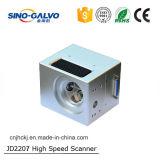 cabeça do laser da fibra da abertura Jd2207 de 12mm para o sistema da marcação do laser da fibra