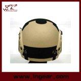 De militaire Tactische Helm van Ibh van de veiligheid met Nvg zet de Helm van de Versie van de Actie van het ZijSpoor op