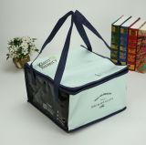 Kundenspezifisches Firmenzeichen-Drucken-preiswertes Picknick-Lebensmittelgeschäft Isolierreißverschluss-Kühlvorrichtung-Beutel