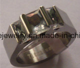 Ring de Van uitstekende kwaliteit van het Titanium van de Juwelen van de Juwelen van de Manier van Shineme (TR1835)