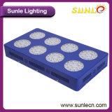 Blaues Eisen-Gehäuse LED wachsen hell für Innenpflanzen (SLPT03-350W)