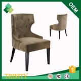 Cadeira real do Wingback para a cafetaria na faia (ZSC-26)