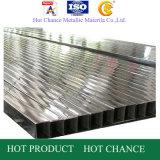 ASTM 201, 304, 316stainless Stahl geschweißtes rechteckiges Rohr 400g