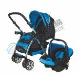 Прогулочная коляска младенца двойственной функции с местом автомобиля