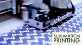 """57GSM/58GSM * """" papel de antienrollamiento de secado rápido de la inyección de tinta de la sublimación del tinte de la anchura 63 para la cabeza de impresión de Kyocera"""