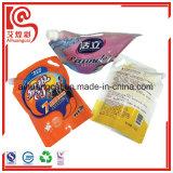 El empaquetado modificado para requisitos particulares del líquido se levanta la bolsa de plástico